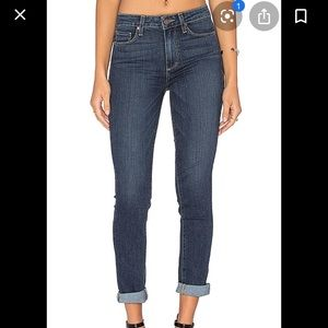 New with tags Paige hoxton Ankle roll up jeans 24